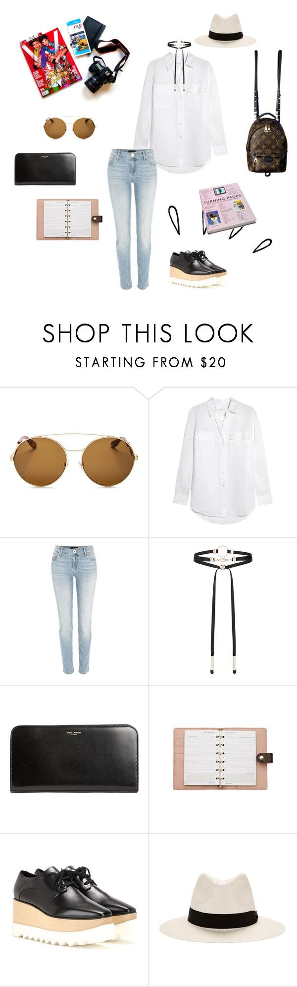 """Forever Pieces"" by shimaia ❤ liked on Polyvore featuring Givenchy, Equipment, River Island, Accessorize, Yves Saint Laurent, Louis Vuitton, STELLA McCARTNEY, Old Navy and rag & bone"