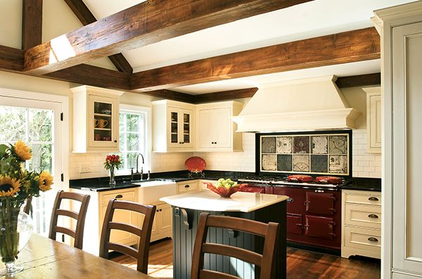 Dream Kitchens: A Country Look in the Suburbs | Homes | Washingtonian: Dining Areas, Stove, Kitchen Extension, Country Kitchens, Kitchen Ideas