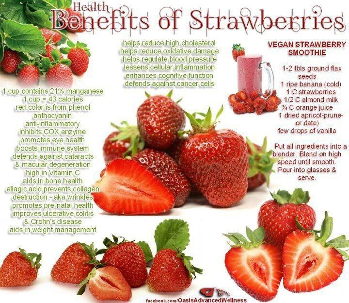 17 Best Images About Health Benefits Of Strawberries On