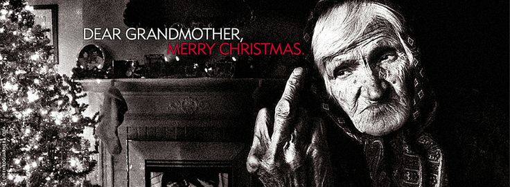 Dear grandmother, Merry Christmas.
