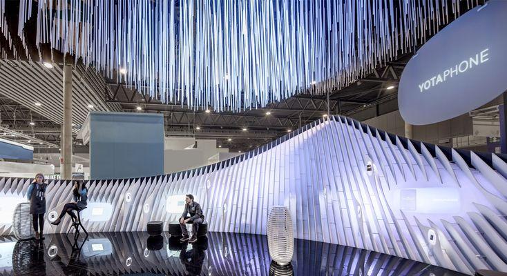 Amazing design at Mobile World Congress Barcelona
