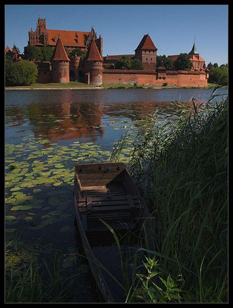 Malbork Redbrick castle Poland