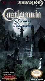 Chorus of Mysteries is a fan made Castlevania game based off of the original Castlevania title. Chorus has all new level design, graphics, enemies and weapons. A truly exceptional game that can stand