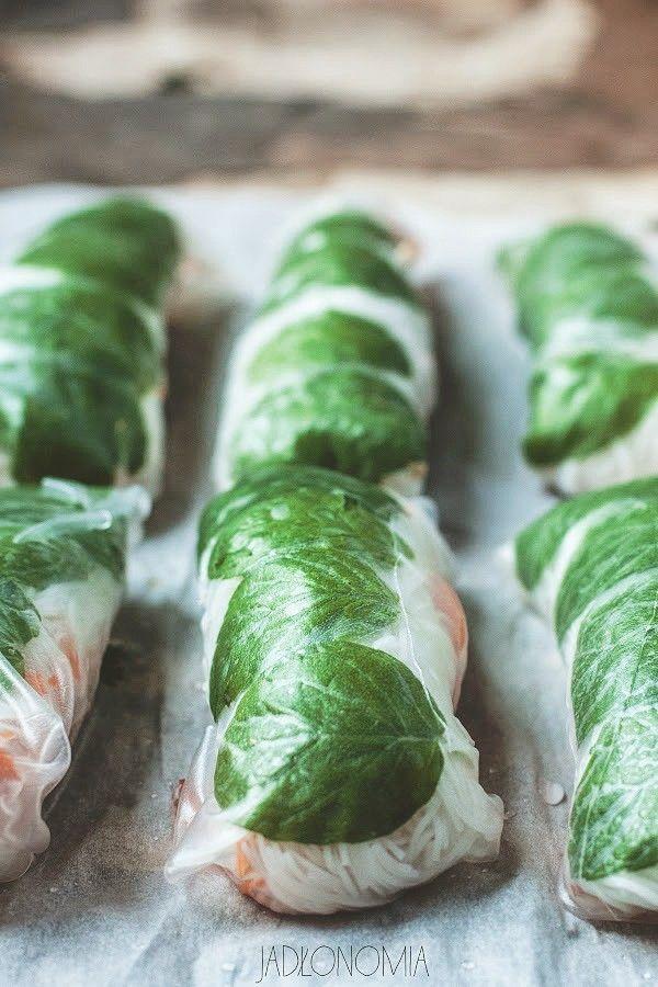 Spring Rolls » Jadłonomia · wegańskie przepisy nie tylko dla wegan