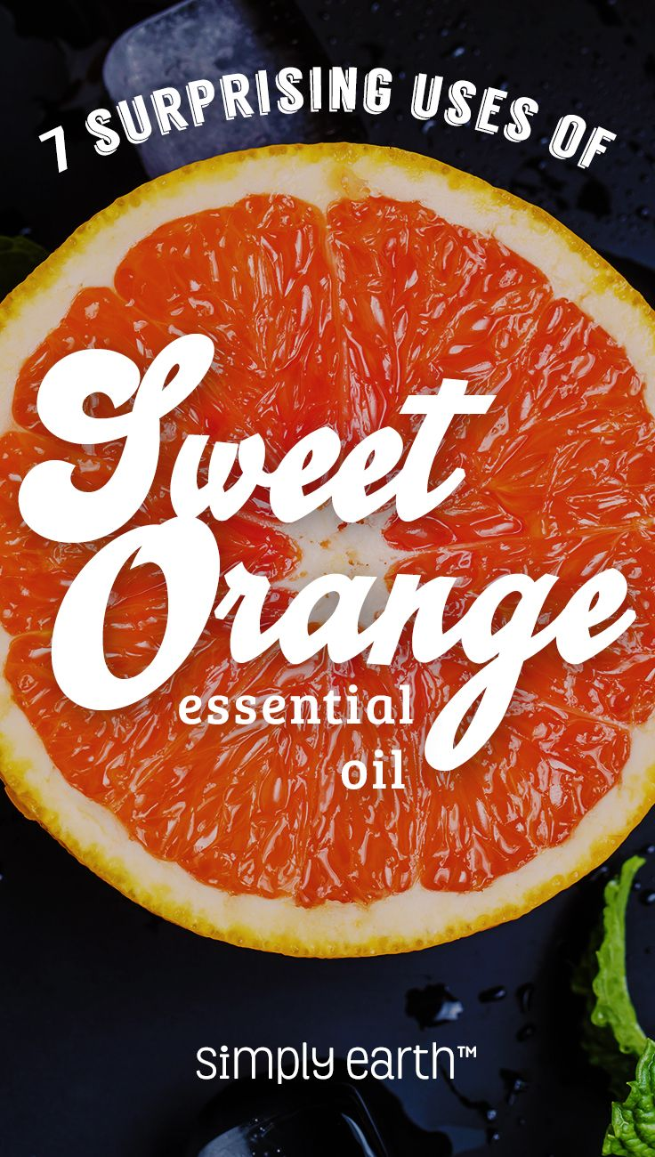 Oranges are a refreshing snack, and they're loaded with vitamins too. The flavor is easy to like (or even love). I haven't met anyone who has ever said they didn't like oranges. Just like the fruit, sweet orange essential oil is packed with lots of beneficial uses. It doesn't hurt that it smells amazing too. Let's find out what this power citrus fruit has for us.