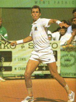 1986: Ivan Lendl defeated Mikael Pernfors 6–3, 6–2, 6–4 in the final to win his second French Open title.