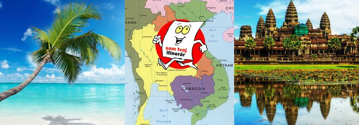 Itinerár: Vietnam a Kambodža za 600 eur