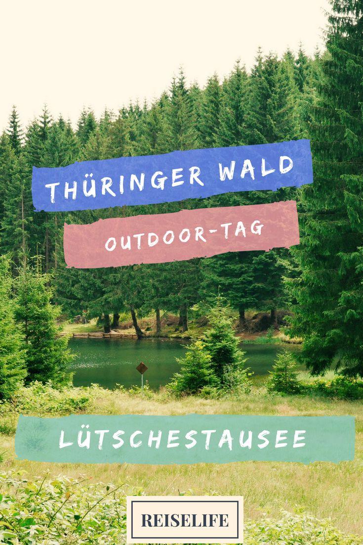 Wandern, Boot fahren, Camping... dein perfekter Ausflugstag im Thüringer Wald.