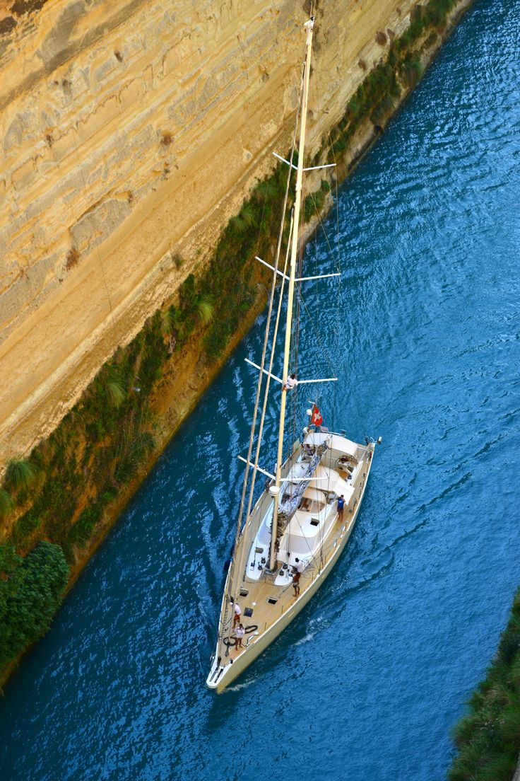 Wonderful view above the Corinth Canal   Alexa Otet