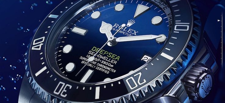 Rolex Deepsea Sea-Dweller D-Blue Dial Watch Is Tribute To James Cameron Deepsea Challenge 3D Movie