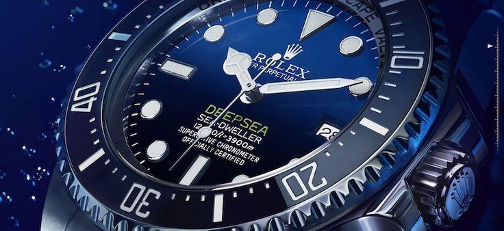 Rolex Deepsea Sea-Dweller D-Blue Dial Watch Is Tribute To James Cameron Deepsea Challenge 3D Movie