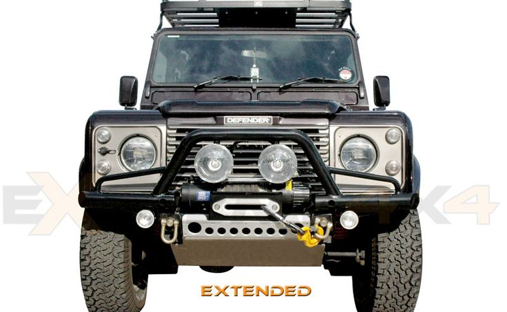 Extended Extreme Tubular Winch Bumper