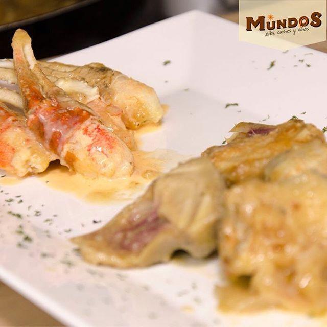 Hoy te recomendamos nuestras muelitas snow crab acompañadas de corazones de alcachofa. ¡pídelas como entrada y disfrútalas con un buen vino! Reserva en el tel. 5371835 o en www.mundos.com.co