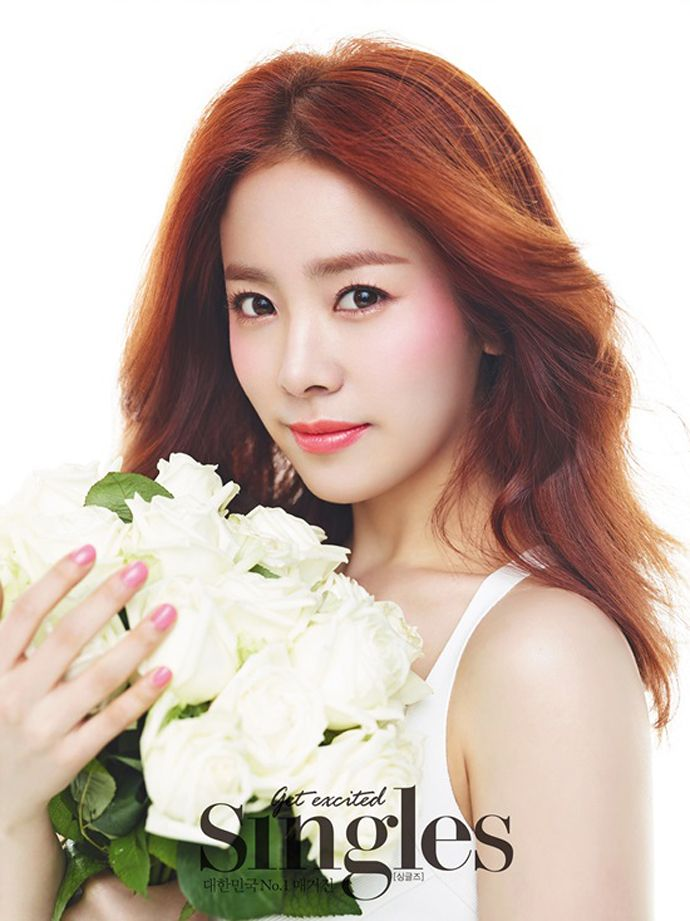 Han Ji Min Brightens Up Singles' May 2015 Issue | Couch Kimchi