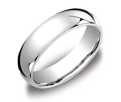Men's Platinum Comfort-Fit Plain Wedding Band (6 mm) for only $909.00 You save: $1,306.90 (59%)