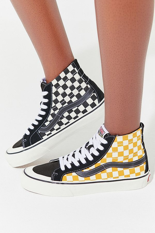 649c387a75 Slide View  5  Vans Sk8-Hi 138 Decon SF Surf Check Sneaker