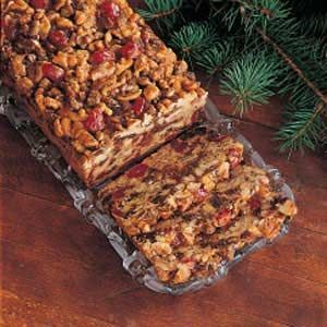 my un-fruitcake recipe from Taste of Home that we actually like ------ THIS LOOKS LIKE A WINNER!