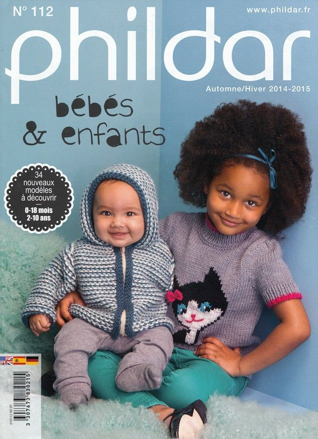 Phildar Knitting Magazine No. 112 - Autumn/Winter 2014-2015 | Deramores