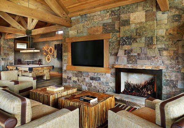 Rough-luxe mountain home in Evergreen, Colorado