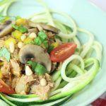 Doordeweeks recept voor courgetti met tonijn