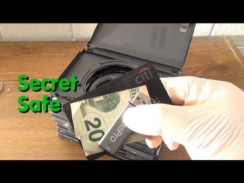 How To Make A Super Secret Stealth Safe Out Of DVD Cases - The Good Survivalist