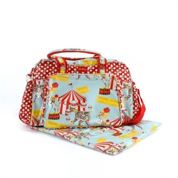 Circus and Dotty Baby Bag - Lou Harvey   Buy Online in UK