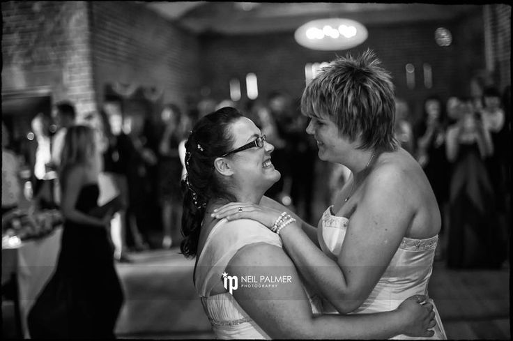 Civil Partnership Photography in Berkshire - 1st dance at Wasing Park