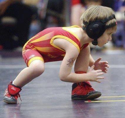 Jr. Wrestling. Wrestler. Luchador. Mini. Lucha olimpica.