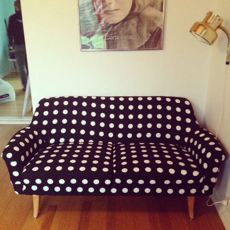 klä om en soffa