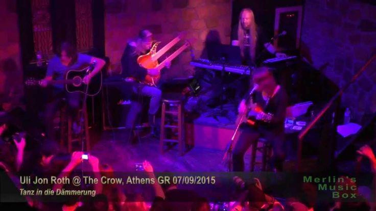 Uli Jon Roth - Tanz in die Dämmerung @The Crow, Athens 07/09/2015