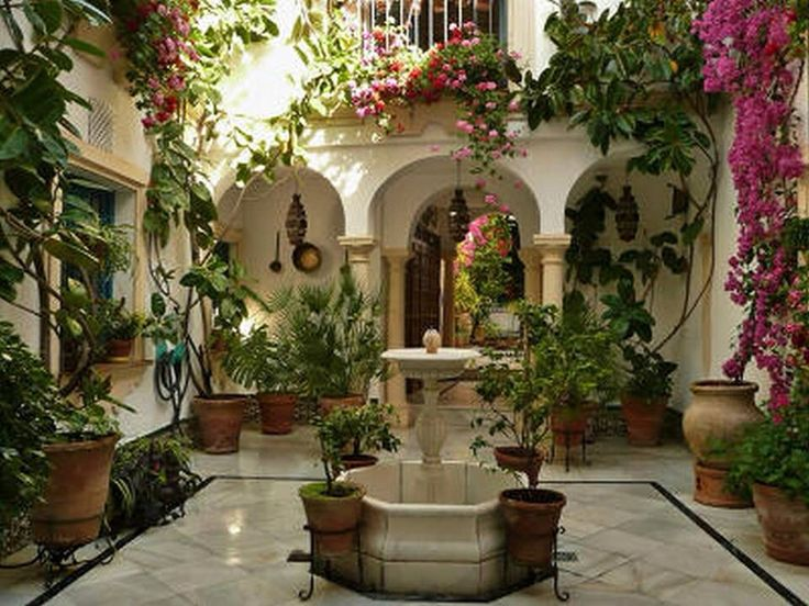 Courtyard house pinterest courtyards - Patios interiores andaluces ...