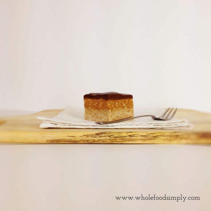 Peanut Butter Slice - Wholefood Simply