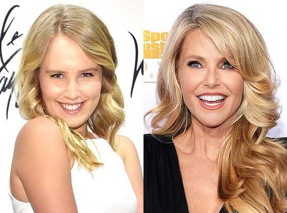 Christie Brinkley's Daughter Looks Just Like Mom in New Fashion Campaign for Prom Season—Take a Look!  Christie Brinkley, Sailor Brinkley Cook