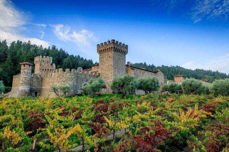 Castello di Amorosa in Calistoga, CA -  Winery in a castle! FTW