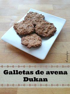 Galletas de Avena Dukan: #LoMejorDeLaSemana