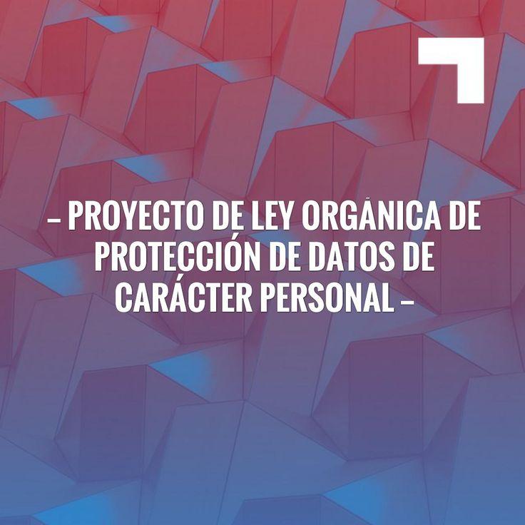 Fingers crossed but I'm hoping you'll love this: Proyecto de Ley Orgánica de Protección de Datos de Carácter Personal https://www.notariosyregistradores.com/web/normas/futuras-normas/proyecto-de-ley-organica-de-proteccion-de-datos-de-caracter-personal/?utm_campaign=crowdfire&utm_content=crowdfire&utm_medium=social&utm_source=pinterest
