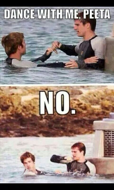 I couldn't stop laughing!! Poor Finnick I'll happily dance with you!! #ILoveFinnick #TeamGale #SorryPeeta