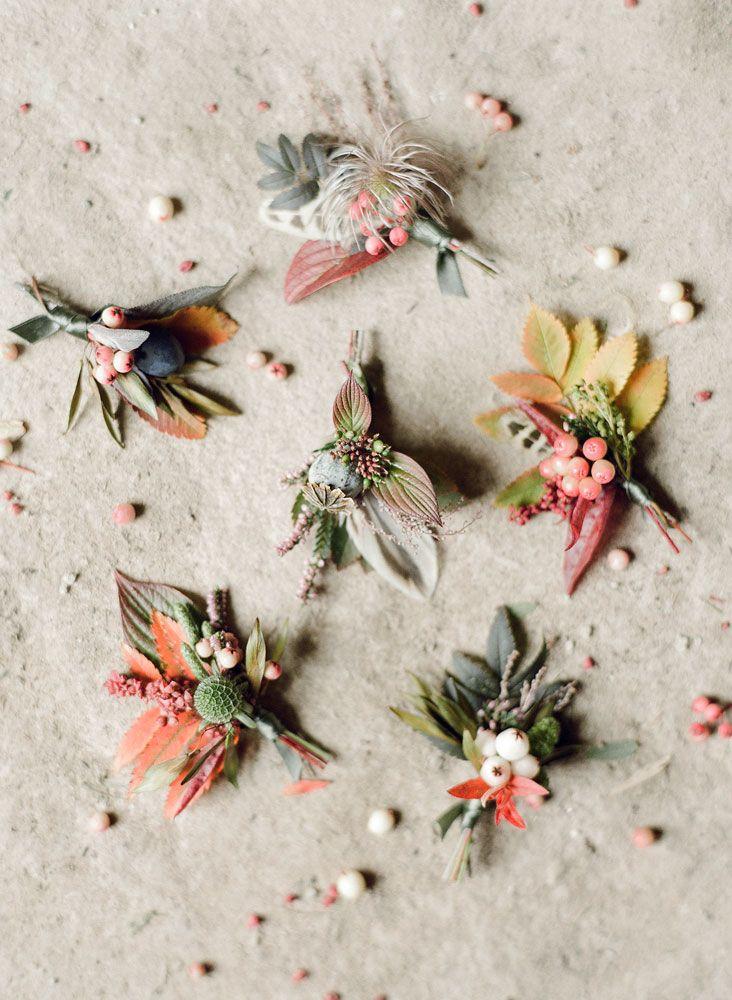 fine art film photography Taylor & Porter Scotland wedding Pyrus buttonholes