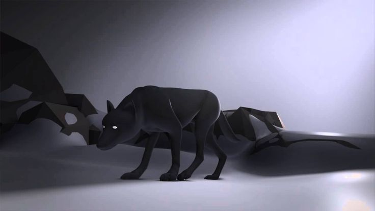 Wolf Animation _ Quadruped assesment by rafael Gonzalez