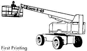 Genie S60 Service Manual Repair #onselz