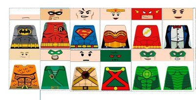 DeviantArt: More Like Custom LEGO DC Justice League Decals ...
