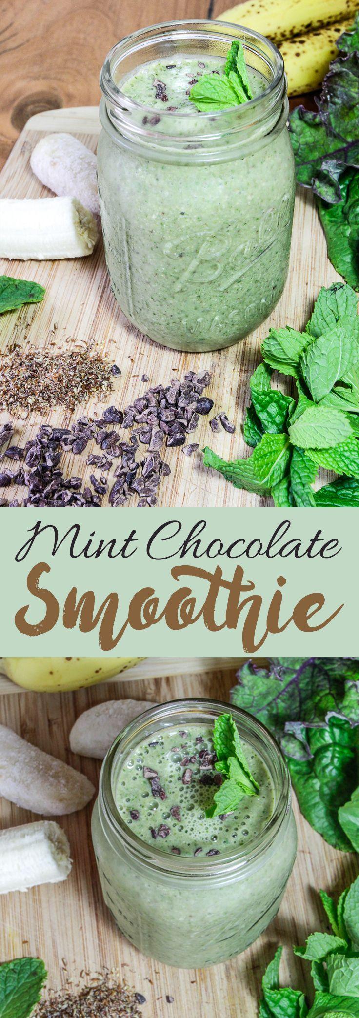 Mint Chocolate Smoothie