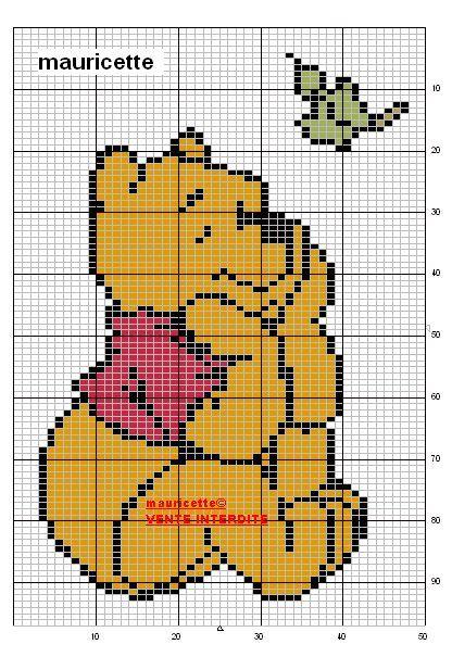 Les 39 meilleures images du tableau grille tricot sur - Grille un feu orange combien de point ...