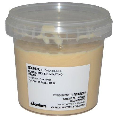 Davines Conditioner, NouNou Illluminating with Tomato Extract for Colour Treated Hair, 8.45-Ounces***8.45 ounce Conditioner,NouNou Nourishing Illuminating Cream for Color Treated Hair was launched by the design house of Davines,It is recommended for normal hair,.