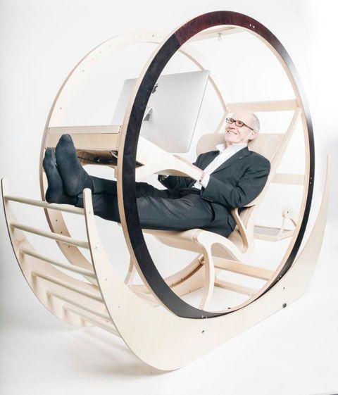 The Anti-Gravity Chair - azbi Design