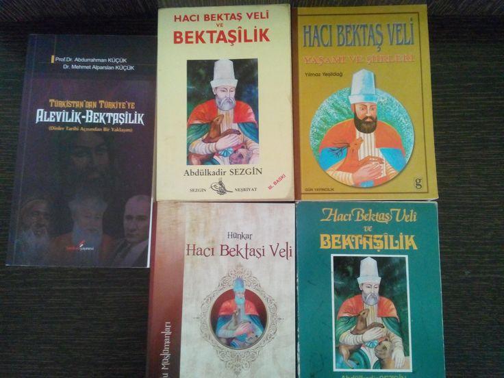 Hacı Bektaş Veli kitaplarım-2016
