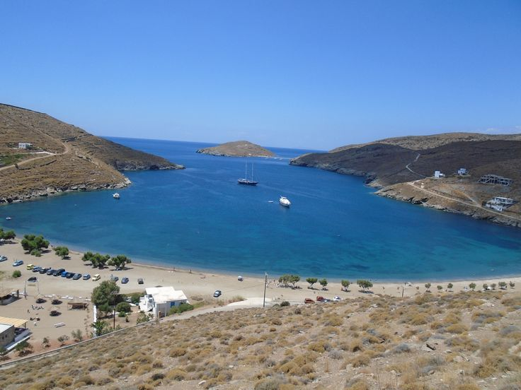 Apokrousi beach, Kythnos, Cyclades, Greece.