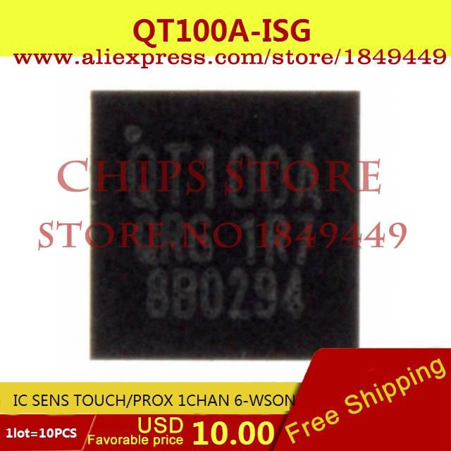 Great item for everybody.   Free Shipping Electronic Voltage Regulator QT100A-ISG IC SENS TOUCH/PROX 1CHAN 6-WSON 100 QT100 10pcs - US $10.00 http://mrelectronicsstore.com/products/free-shipping-electronic-voltage-regulator-qt100a-isg-ic-sens-touchprox-1chan-6-wson-100-qt100-10pcs/