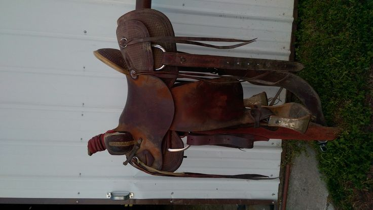 HR Ranch Roping Saddle for sale