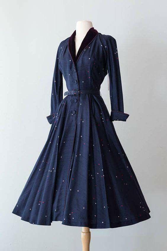 1950s Dress # 1950swomensvintageclothing